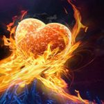 Burning lust and passion spell