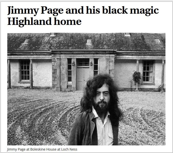 Jimmy Page Black Magick