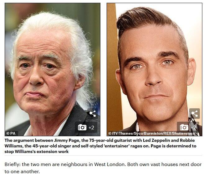 Jimmy Page Robbie Williams Black Magick