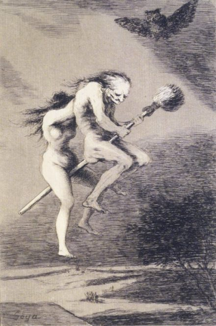 The First Known Depiction of a Witch on a Broomstick